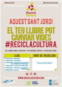 Recicla Cultura - cartell café recollida_CRAI